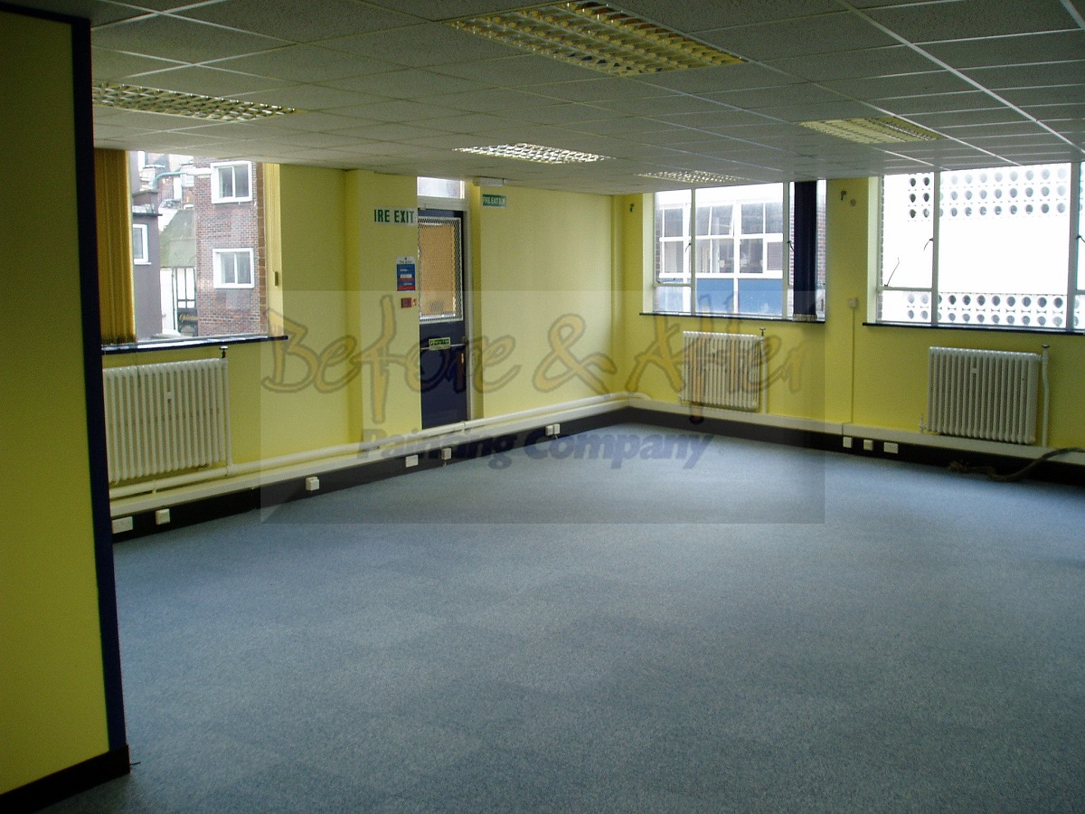 Redecoration to Office at Cornwallis House Maidstone - After