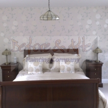 Feature Wall in Master Bedroom - Sevenoaks