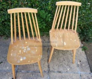 upcycling ercol chairs