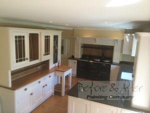 hand painted kitchen in Shorne - Kent