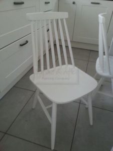 hand painted ercol chair
