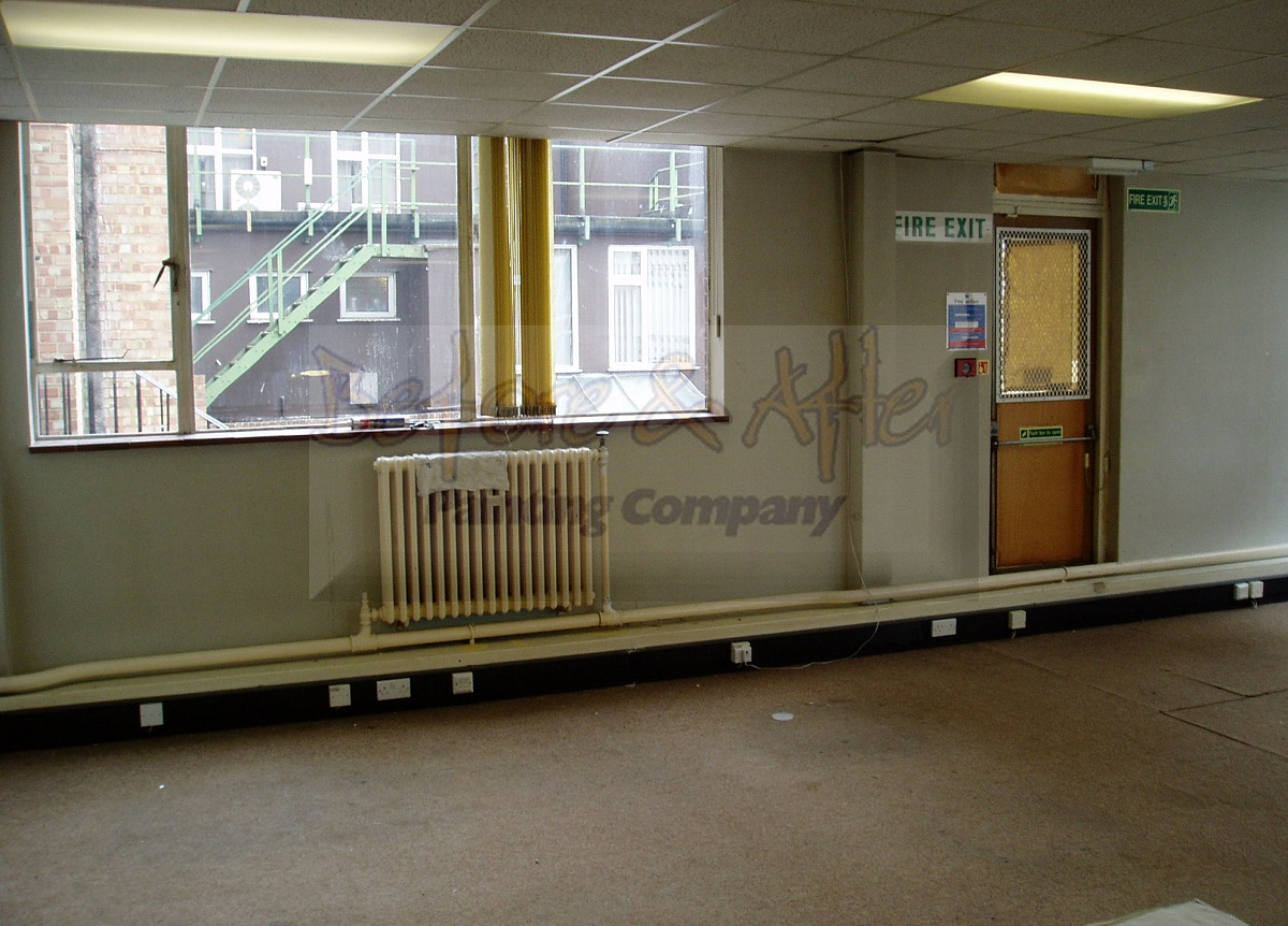 Redecoration to Office at Cornwallis House Maidstone - Before