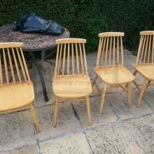 Ercol chairs cleaned down with Krud Kutter Original