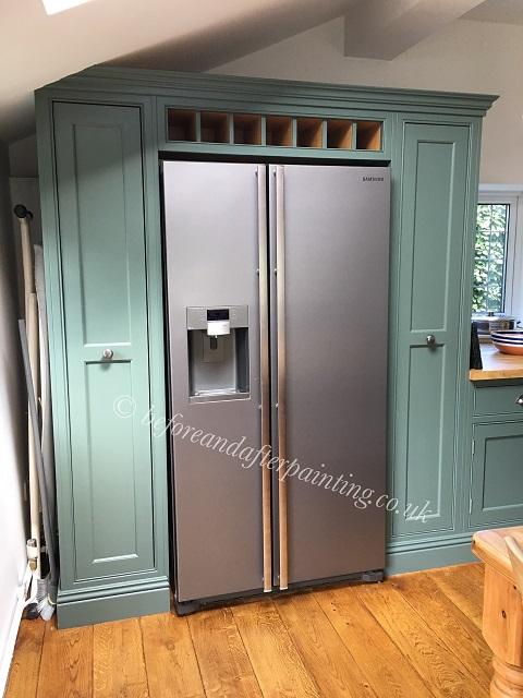 fridge unit painted in scuff-x