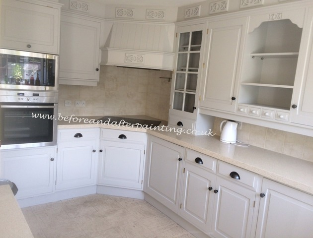 Hand Painted Kitchen in Upnor Medway